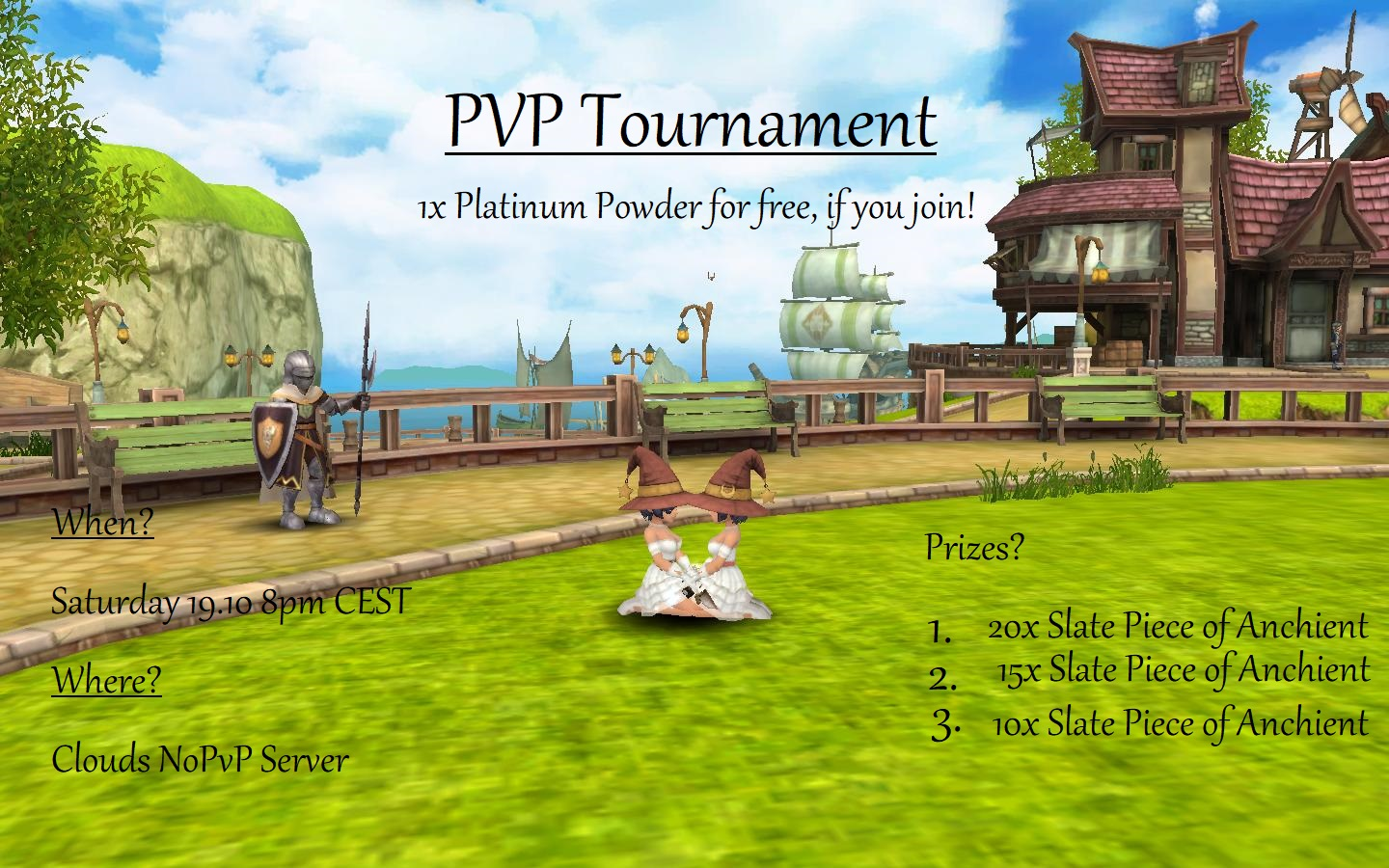 Pvp tournament