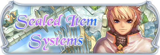 Sealed items system