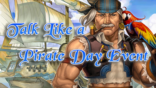 Talk like a pirate day event